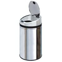 Hiper Sensörlü Çöp Kovası 30 Lt. Krom