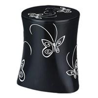 Butterfly Siyah Çöp Kovası