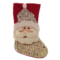 Yılbaşı Noel Babalı Çorap