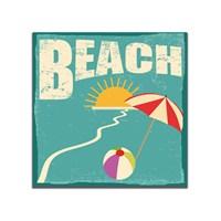 Dolce Home Retro Beach Tablo 47