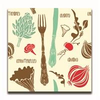 Dolce Home Dekoratif Mutfak Temalı Tablo