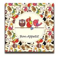 Dolce Home Dekoratif Bon Appetit Yazılı Tablo