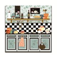 Dolce Home Dekoratif Mutfak Temalı Tablo 3