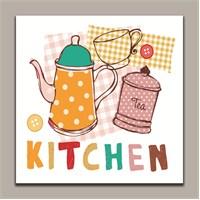 Dolce Home Dekoratif Mutfak Yazılı Tablo 4