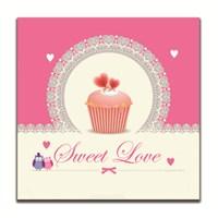 Dolce Home Dekoratif Tatlı Aşk Yazılı Tablo 4