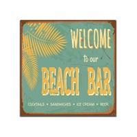 Dolce Home Retro Beach Bar Tablo 16
