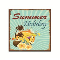 Dolce Home Retro Summer Holiday Tablo 8