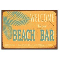 Dolce Home Retro Beach Bar Tablo 4