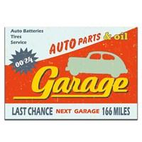 Dolce Home Retro Garage Tablo 42