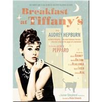 Breakfast At Tiffany'S Blue Magnet
