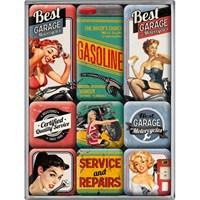Best Garage Magnet Set (9 Parça)
