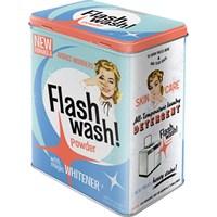 Flash Wash Teneke Saklama Kutusu (Large)