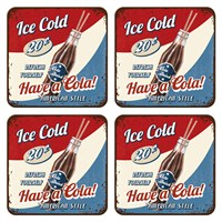 Have A Cola Bardak Altlığı (4 Lü Set)