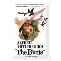 Alfred Hitchcock'S The Birds Metal Kabartmalı Duvar Panosu