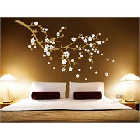 Ağaç Dalı Beyaz Çiçekler