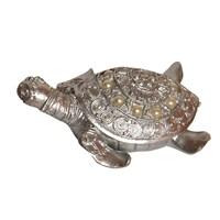 Dekoratif İncili 3'lü Gümüş Kaplumbağa Süsü