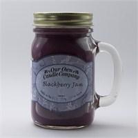Blackberry Jam Büyük Kavanoz Mum
