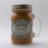 Cantaloupe Büyük Kavanoz Mum