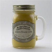 Lemon Pound Cake Büyük Kavanoz Mum