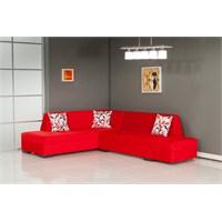 Moda Life Mobetto Gold-2 Köşe Takımı Kırmızı