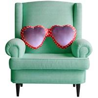 Kalpli Gözlük Tasarım Yastık