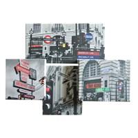 Trafik Lambaları Kanvas Tablo