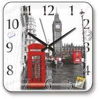 Panaroma Londra Manzaralı Duvar Saati