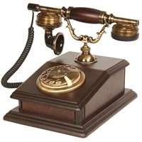 Ahşap Büro Klasik Telefon