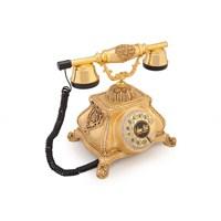 Meltem Altın Varaklı Zirkon Taşlı Telefon