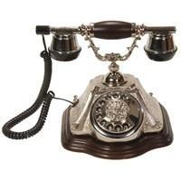 Piramit Gümüş Klasik Telefon