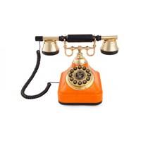 Anna Bell Klasik Çevirmeli Tuşlu Telefon