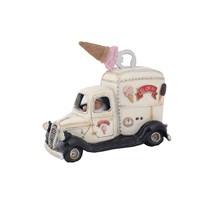 Dondurma Arabası Figürlü Biblo