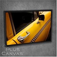 Pluscanvas - Yellow Cab Tablo