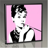 Pluscanvas - Audrey Hepburn - Pop Art Tablo