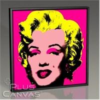 Pluscanvas - Andy Warhol - Marilyn İn Pink Tablo