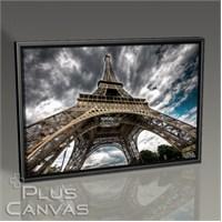Pluscanvas - Paris - Eiffel Tower Perspective V Tablo