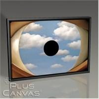 Pluscanvas - Rene Magritte - The False Mirror Tablo