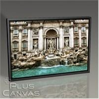Pluscanvas - Rome - Trevi Fountain Tablo