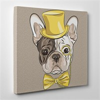 Tabloshop French Bulldog Kanvas Tablo