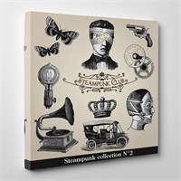 Tabloshop Steampunk Kanvas Tablo
