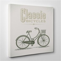 Tabloshop Classic Bicyles Kanvas Tablo