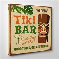 Tabloshop Tiki Bar Kanvas Tablo