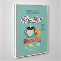Tabloshop Breakfast Kanvas Tablo