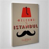 Tabloshop Welcome Istanbul Kanvas Tablo