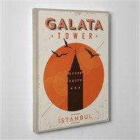 Tabloshop Galata Tower Kanvas Tablo