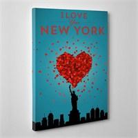 Tabloshop Love New York Kanvas Tablo