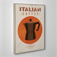 Tabloshop Italian Coffee Kanvas Tablo
