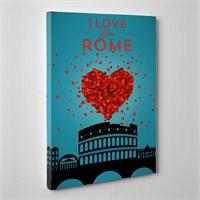 Tabloshop Love Roma Kanvas Tablo