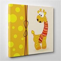 Tabloshop Şaşkın Zürafa Kanvas Tablo