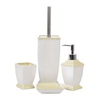 Fidex Home Porselen Banyo Seti 4 Parça